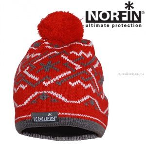 Шапка Norfin Norway Women Red (Артикул:  305756)