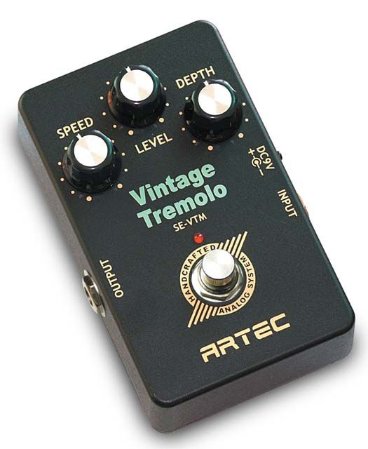 ARTEC SE-VTM Vintage Tremolo Педаль для электрогитары