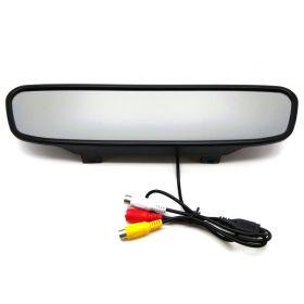 Монитор в зеркале заднего вида