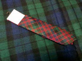 Истинно шотландский клетчатый галстук 100% шерсть , расцветка клан Макдональд () MACDONALD CLAN