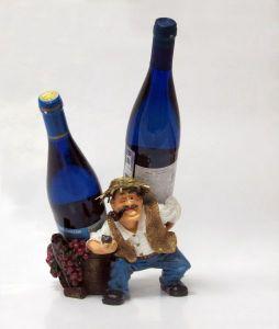Подставка для вина «Винорикша»