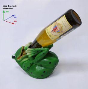 Подставка для вина «Лягушка лежит на спине»