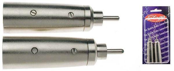 STAGG AC-XMCMH Male XLR/ male RCA adaptor
