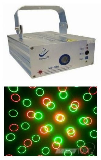BIG DIPPER M-016RG Лазер (красный+зеленый)