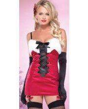 Новогодние платье снегурочки