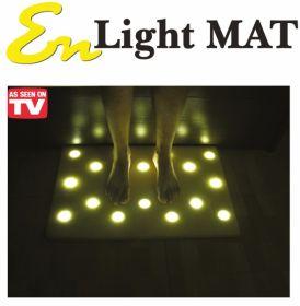 Коврик с подсветкой для пола En Light Mat (Эн Лайт Мат) оригинальный (16 led светильников)