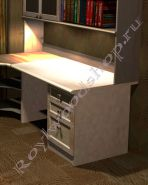Стол письменный для школьника 1200х800мм