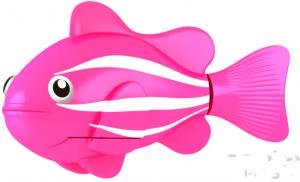 Роборыбка-клоун (розовая)