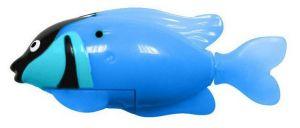 Роборыбка-попугай светящаяся  (синяя)