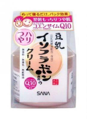 Увлажняющий крем с капсулированным коэнзимом Q10 Sana SOY MILK