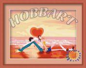 """Картина по номерам """"Рассвет на пляже"""""""