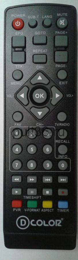 Пульт для ROSS&MOOR RMR-818T2 HD