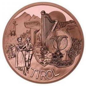 Тироль 10 евро Австрия 2014 Серия Федеральные земли Австрии