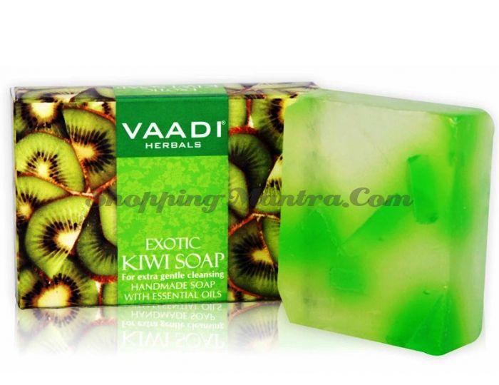 Мыло для лица и тела Киви&Зеленое яблоко Ваади (Vaadi Exotic Kiwi Soap&Green Apple Extract)