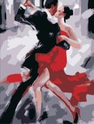 """Раскраска по номерам """"Танец страсти"""""""
