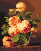 """Раскраска по номерам """"Аромат роз"""""""