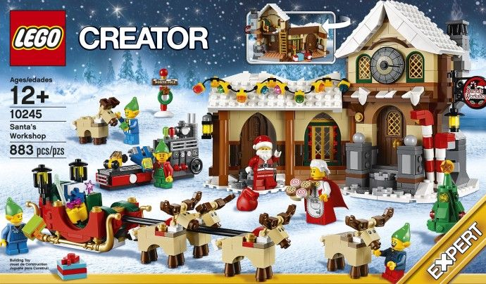 Мастерская Санта-Клауса. ЛЕГО 10245