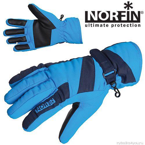 Купить Перчатки Norfin WINDSTOP BLUE 705063