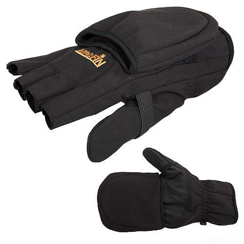 Купить Перчатки-варежки флисовые Norfin SOFTSHELL 703061