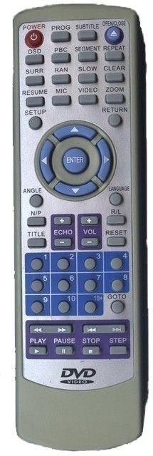 Пульт для United DVX-7062 (DVD) (DVX-7060B, DVX-7061, DVX-7062)