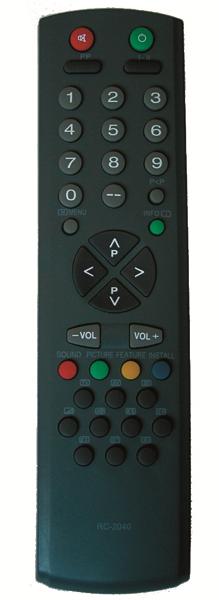 Пульт для Vestel /Shivaki/Rainford RC-2040,-2140 (TV) (TV-5119, TV-5131, TV-5131HF, TV-5154, TV-5155, TV-5196, TV-5531, TV-5554, TV-5555, TV-5581C, TV-5596, TV-6382, TV-6392, TV-7282, TV-7292, TV-7294, TVF-5522TC, TVF-5526TC, TVF-5591TC)