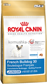 Royal Canin French Bulldog 30 Junior для щенков Французский бульдог
