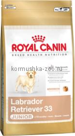 Royal Canin Labrador Retriver 33 Junior для щенков Лабрадор