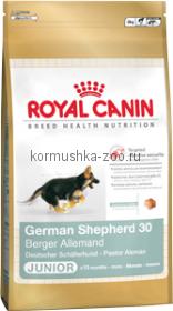 Royal Canin German Shepherd 30 Junior для щенков Немецкая овчарка