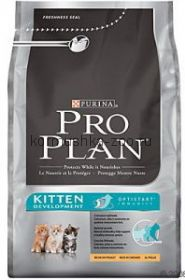 Pro Plan Kitten для котят курица/рис