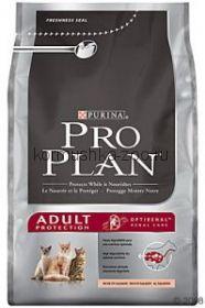 Pro Plan Adult корм для кошек  лосось/рис