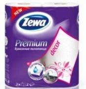 Zewa Полотенца бумажные Премиум Декор 2шт
