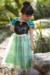 Платье Анны Холодное сердце пышное рост 110