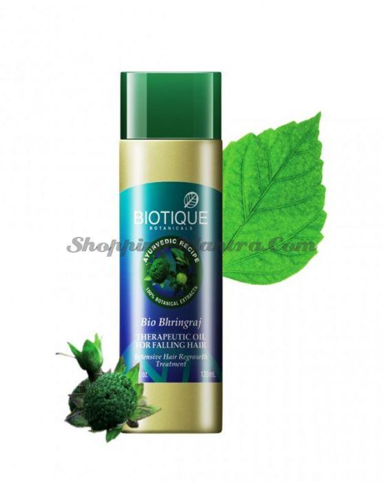 Масло против выпадения волос Биотик Бринградж | Biotique Bio Bhringraj Fresh Growth Therapeutic Oil