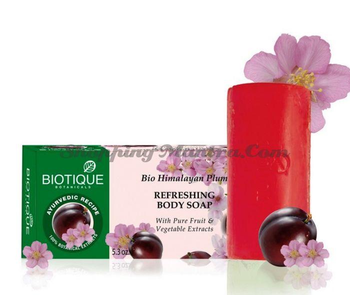 Мыло для тела Биотик Гималайская Слива | Biotique Himalayan Plum Body Soap