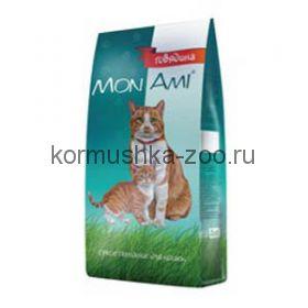 МонАми для взрослых кошек с мясом ГОВЯДИНЫ, МКБ