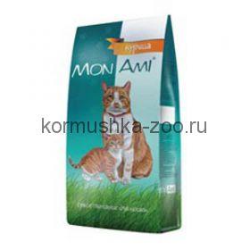 МонАми для взрослых кошек с мясом КУРИЦЫ, МКБ