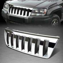 Решетка радиатора, Hummer стиль, хром