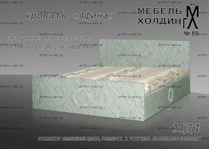 Кровать Афина МДФ