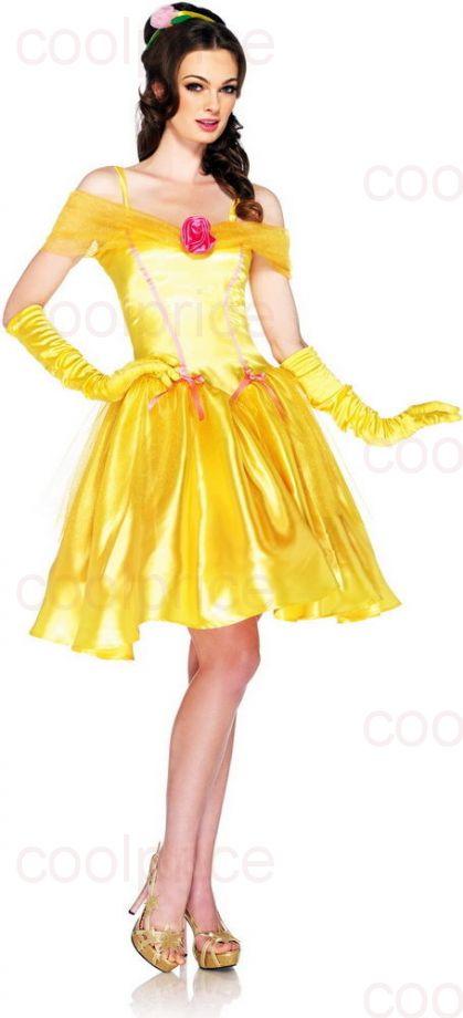 Костюм принцессы Бель (Princess Belle)