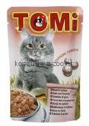 TOMI для кошек телятина с индейкой