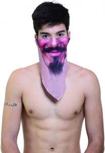Повязка с бородкой и усами