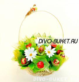 """Букет из конфет №287 """"Соловушка"""""""