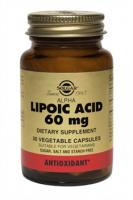 Альфа-липовая кислота 60 мг солгар