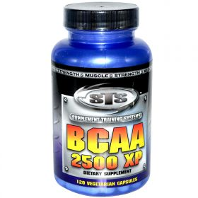 Supplement Training Systems BCAA 2500 XP (120 капс.)
