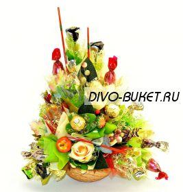 """Букет из конфет №322 """"Осенний вариант"""""""