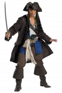 Костюм пирата Джека воробья