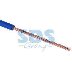 Провод монтажный (автомобильный) 0.5 мм2 100м синий (ПГВА) REXANT