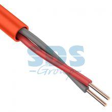 Кабель сигнальный КПСнг(А)-FRLS 1x2x0,75мм² (1,0мм), 200М ГОСТ Р 31565-2012 PROCONNECT