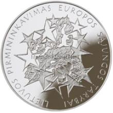 Литва 1 лит 2013. Председательство в ЕС