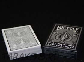 Карты Bicycle White And Silver